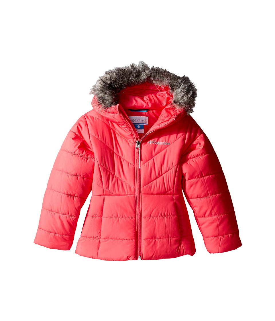 Columbia Kids - Katelyn Crest Jacket (Little Kids/Big Kids) (Punch Pink) Girl's Coat