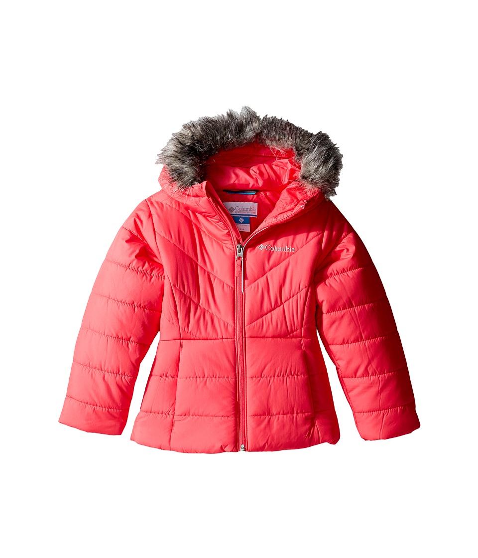 Columbia Kids - Katelyn Crest Jacket (Little Kids/Big Kids) (Punch Pink) Girl's Coat