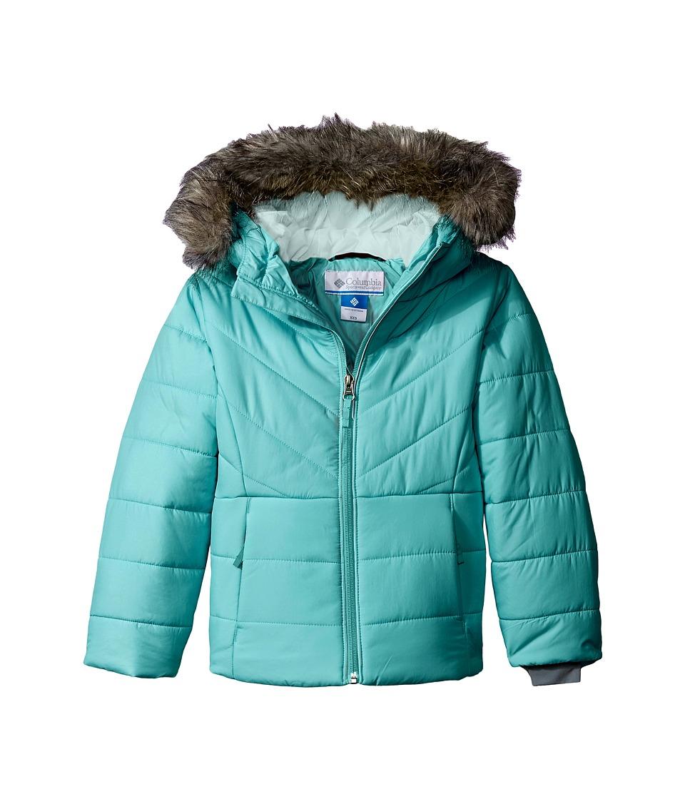 Columbia Kids - Katelyn Crest Jacket (Little Kids/Big Kids) (Miami/Spray) Girl's Coat