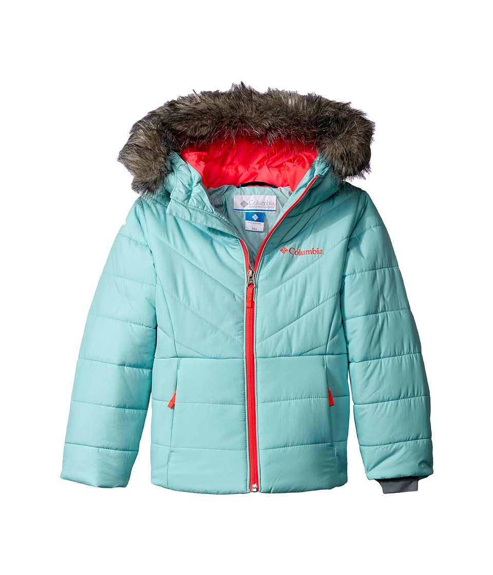 Columbia Kids - Katelyn Crest Jacket (Little Kids/Big Kids) (Spray/Laser Red) Girl's Coat