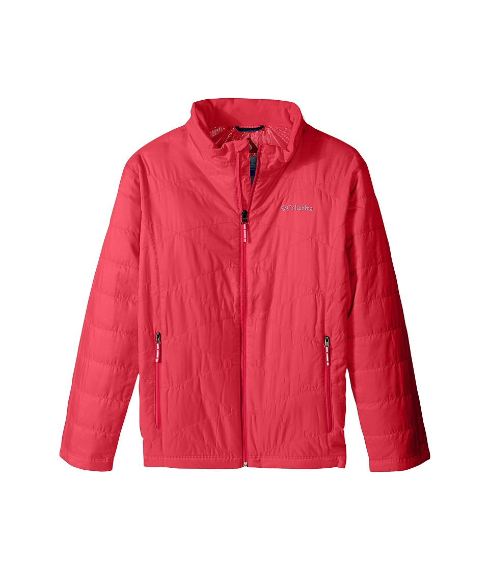 Columbia Kids - Mighty Lite Jacket (Little Kids/Big Kids) (Punch Pink) Girl's Coat