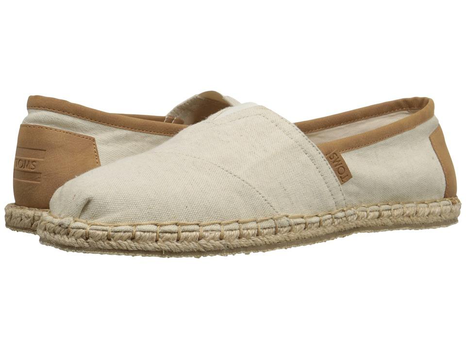 TOMS - Seasonal Classics (Birch Hemp) Men's Slip on Shoes