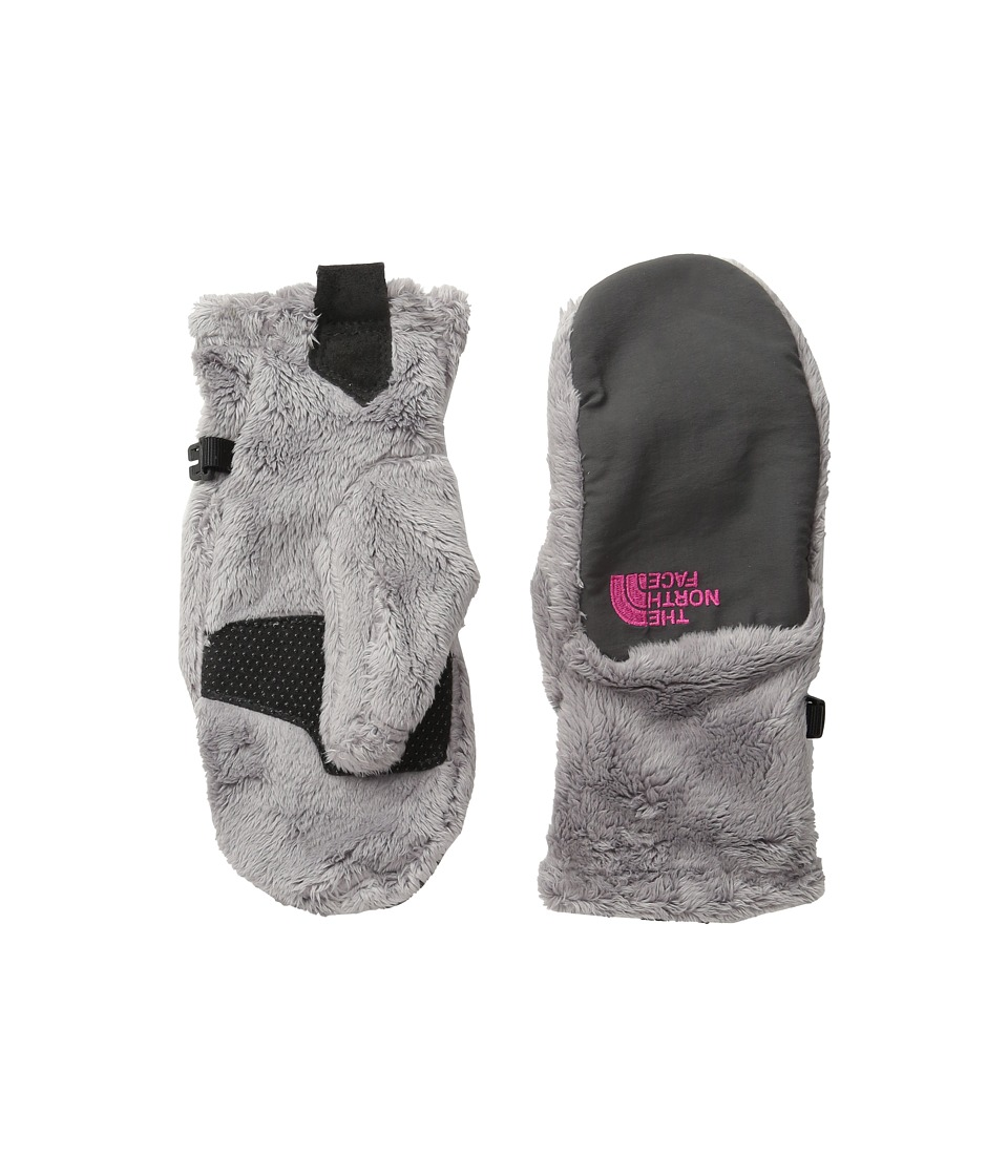 The North Face Kids - Denali Thermal Mitt (Big Kids) (Metallic Silver) Extreme Cold Weather Gloves