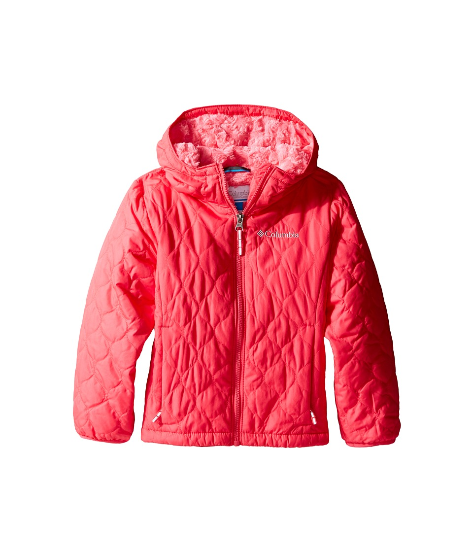 Columbia Kids - Bella Plush Jacket (Little Kids/Big Kids) (Punch Pink/Camellia Rose) Girl's Coat