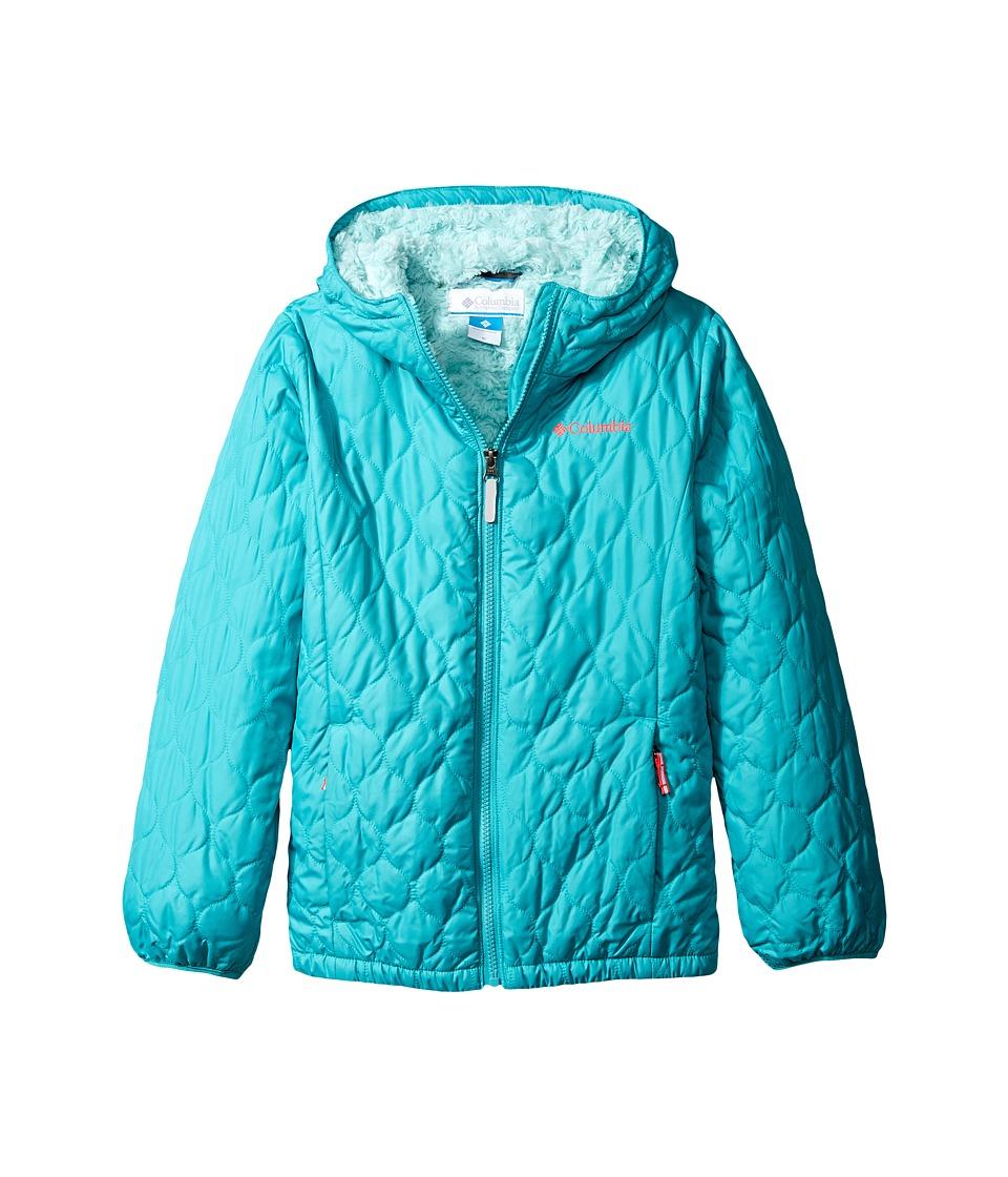 Columbia Kids - Bella Plush Jacket (Little Kids/Big Kids) (Miami/Spray/Laser Red) Girl's Coat