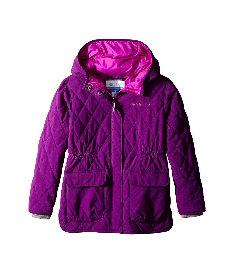 Columbia Kids - Primrose Peak Jacket (Little Kids/Big Kids) (Iris Glow/Bright Plum) Girl's Coat