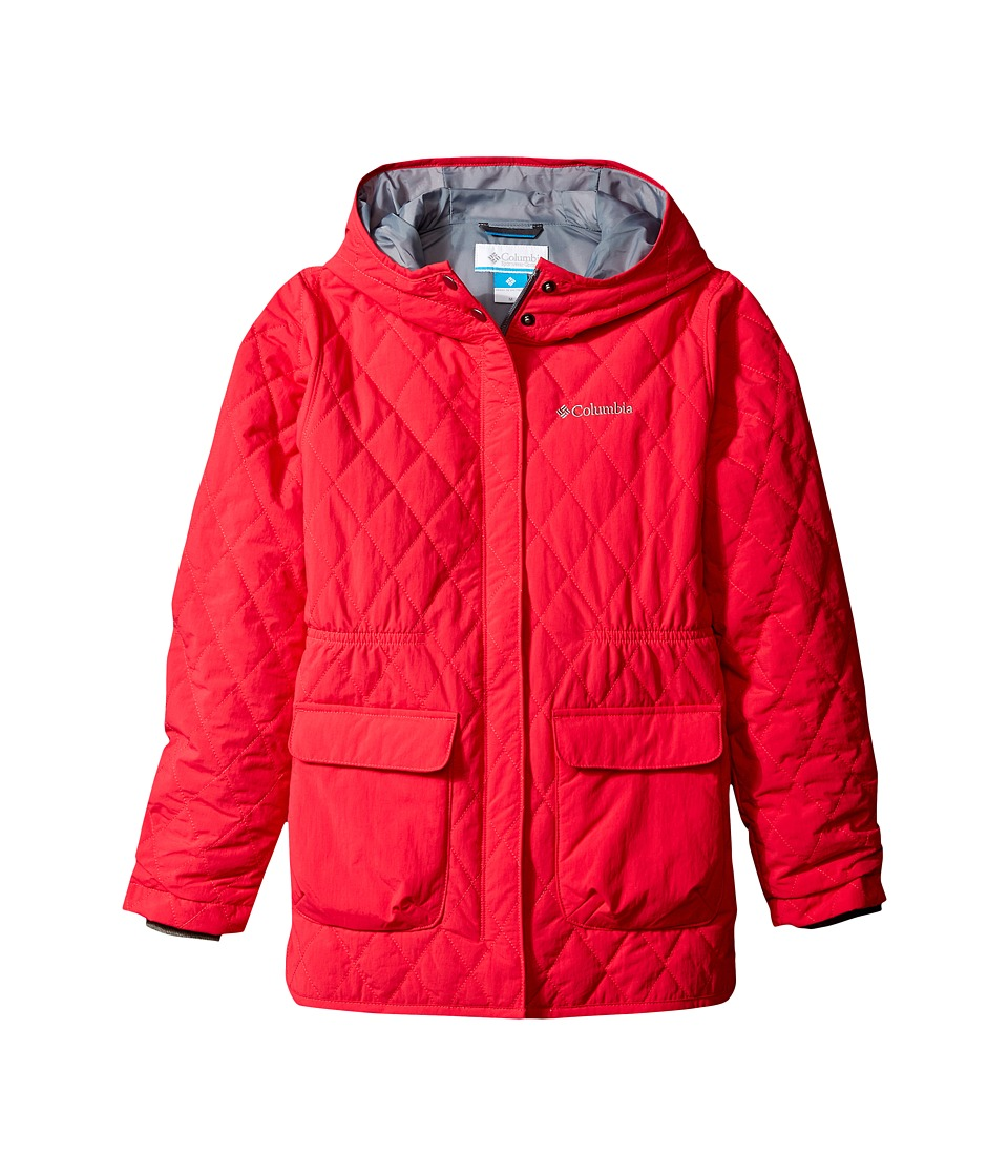Columbia Kids - Primrose Peak Jacket (Little Kids/Big Kids) (Punch Pink/Grey Ash) Girl's Coat