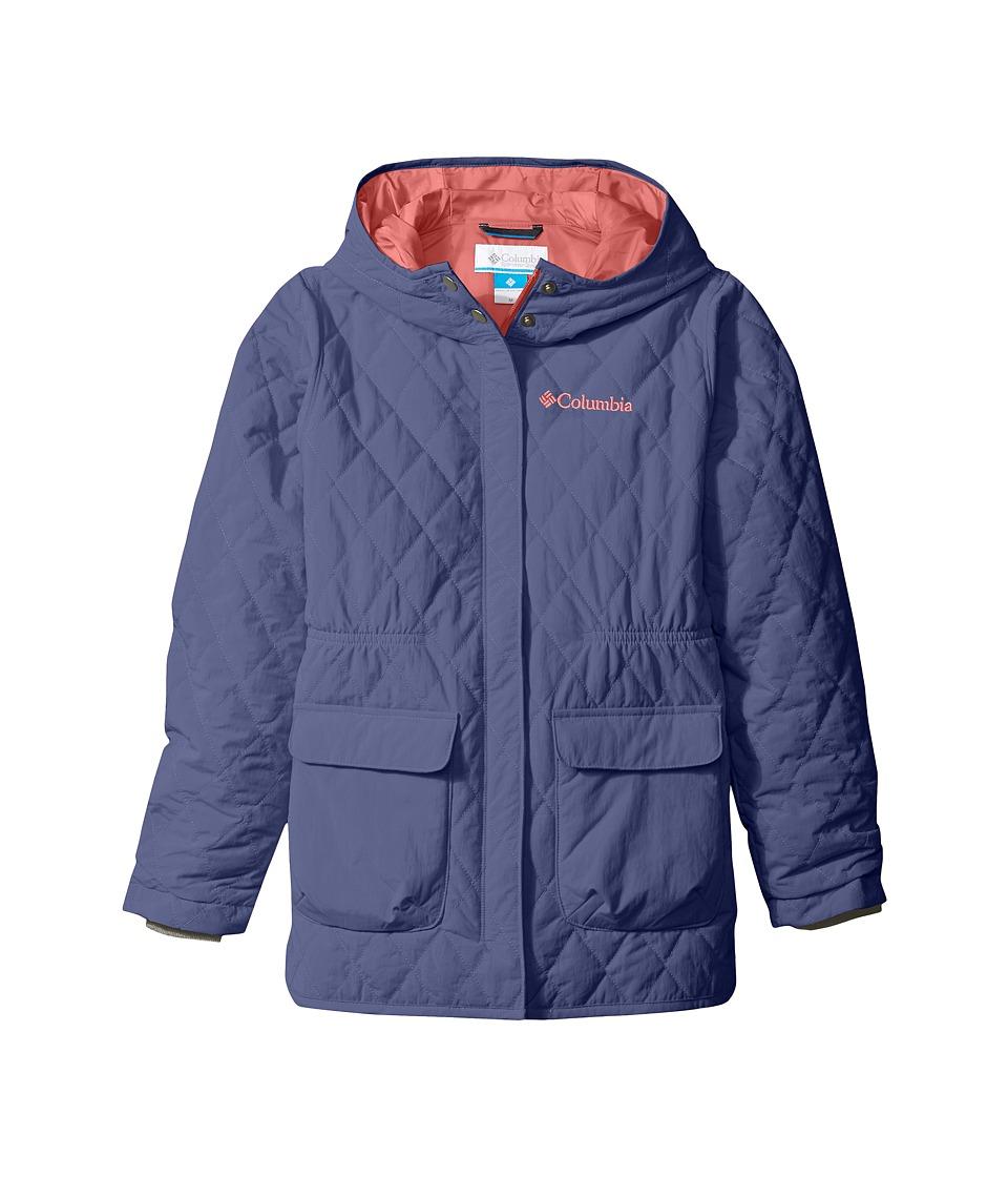 Columbia Kids - Primrose Peak Jacket (Little Kids/Big Kids) (Bluebell Hot Coral) Girl's Coat
