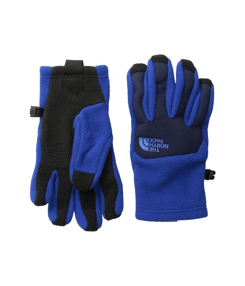 The North Face Kids - Denali Etip Gloves (Big Kids) (Honor Blue) Extreme Cold Weather Gloves