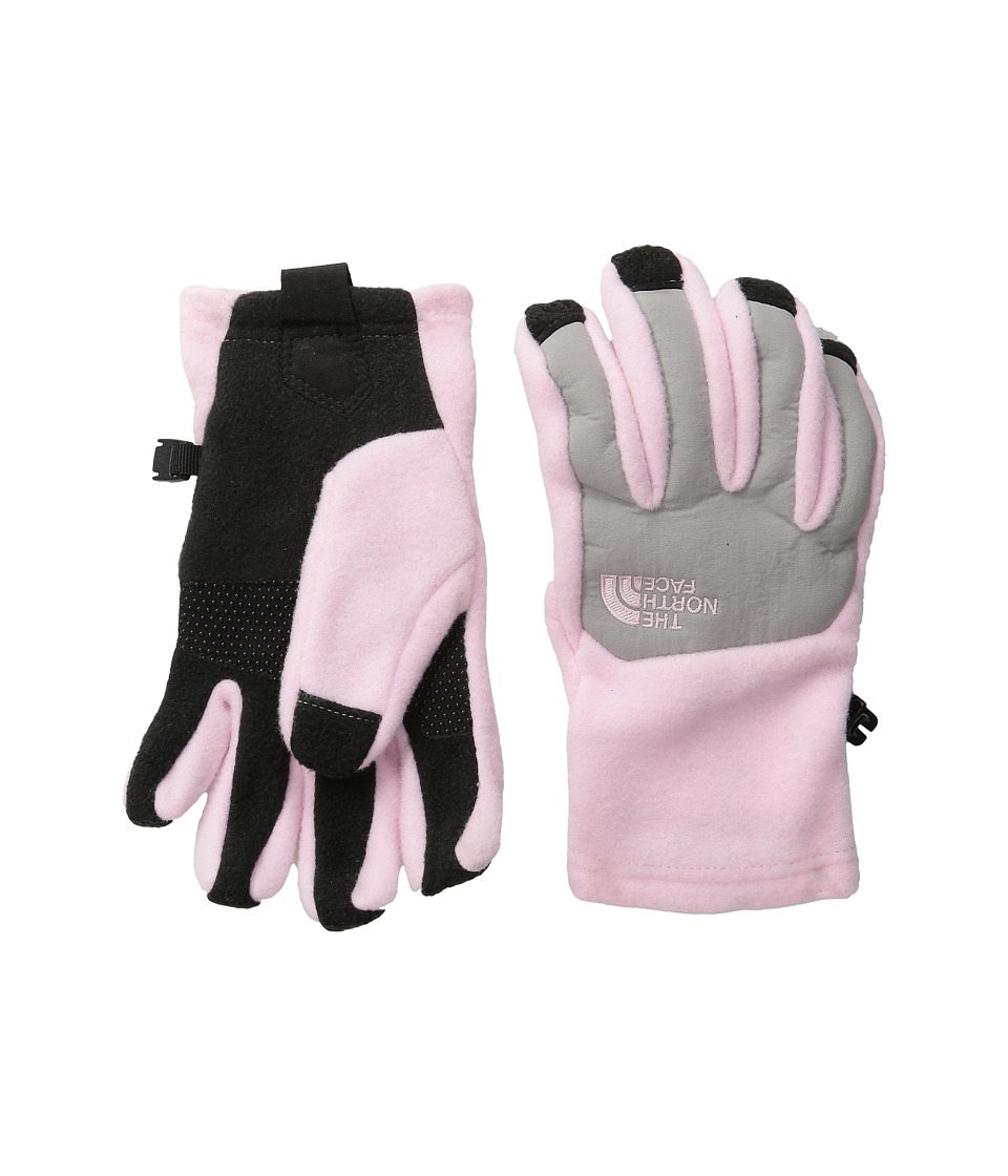 The North Face Kids - Denali Etip Gloves (Big Kids) (Coy Pink) Extreme Cold Weather Gloves
