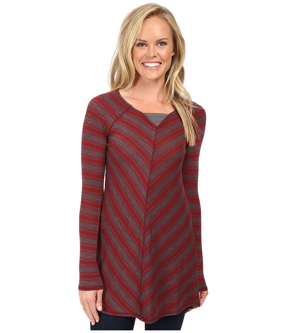 Aventura Clothing - Bexley Tunic (Burnt Russet/Smoked Pearl) Women's Long Sleeve Pullover