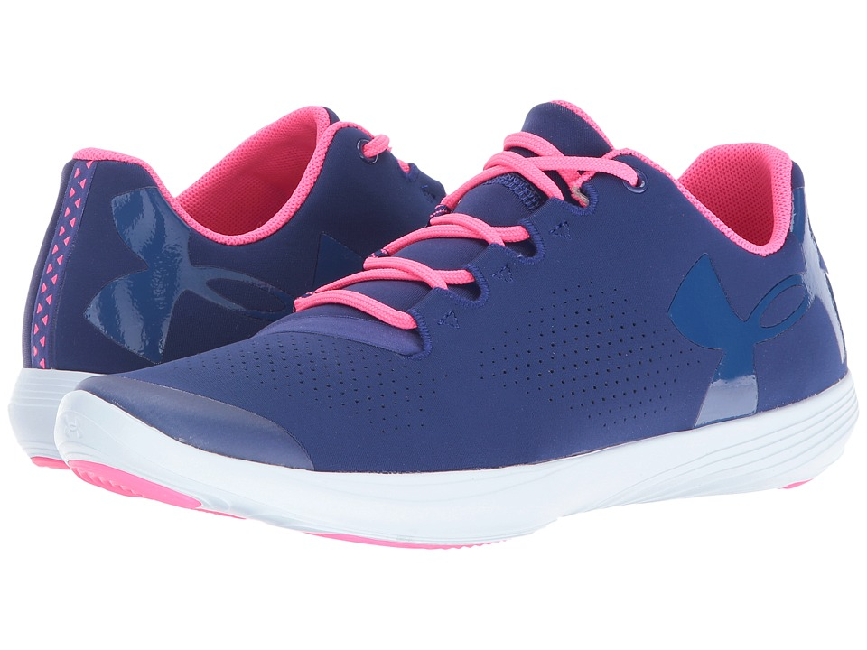 Under Armour Kids - UA GGS Street Precision Low (Big Kid) (Caspian/Ion Blue/Heron) Girls Shoes