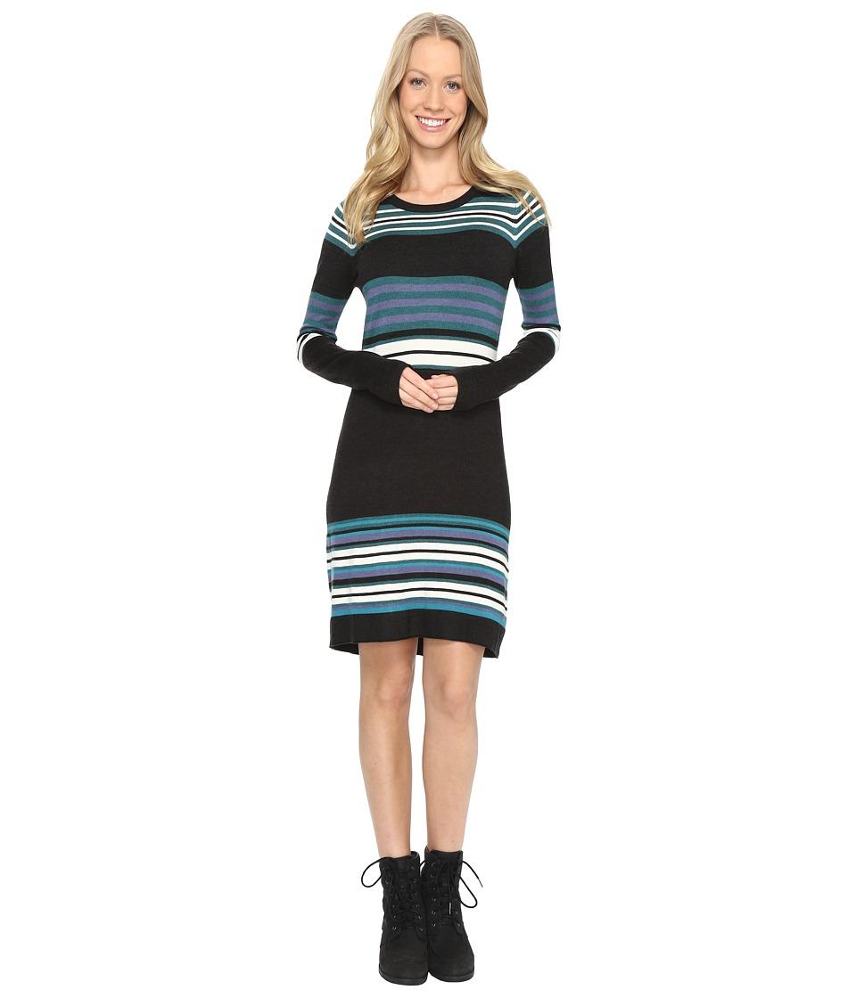 Aventura Clothing Martina Dress (Heathered Black) Women