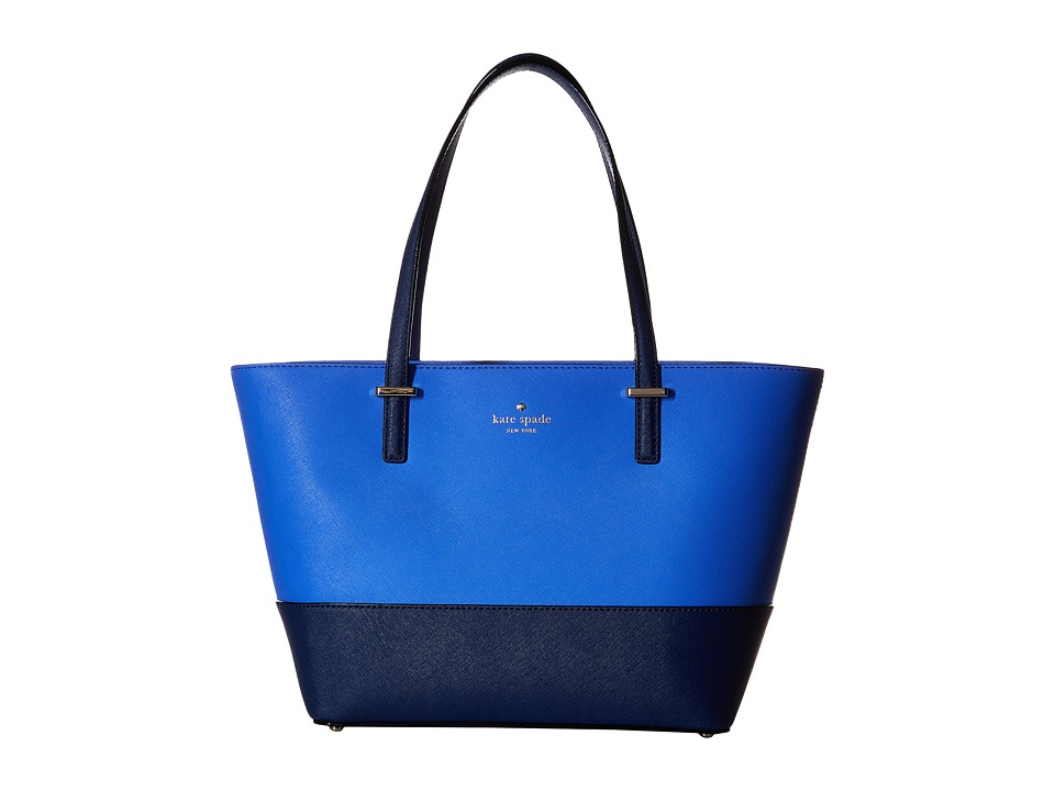 Kate Spade New York - Cedar Street Mini Harmony (Ocean Blue/Adventure Blue) Handbags