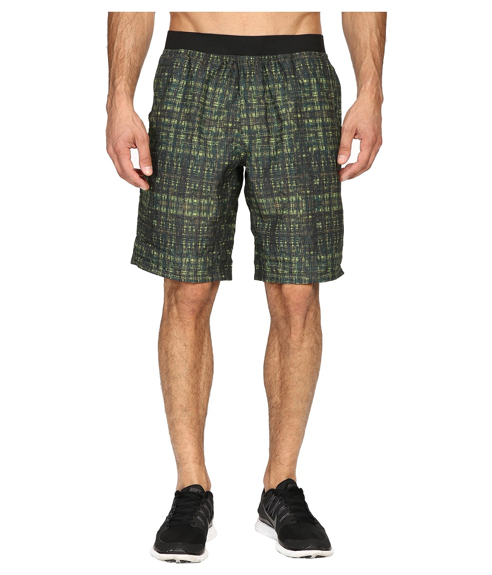 Prana - Mojo Short (Olive Hatch) Men's Shorts