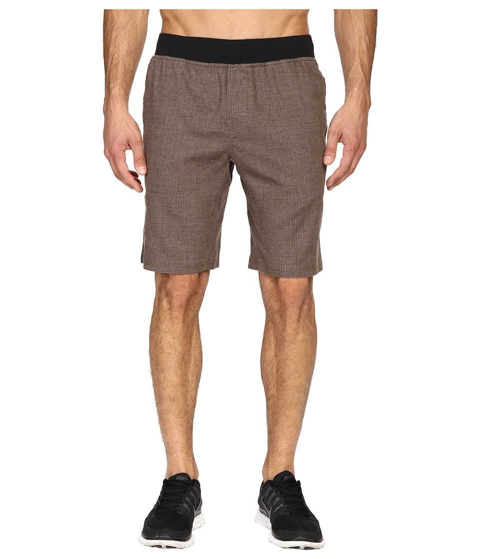 Prana - Vaha Short (Brown Herringbone) Men's Shorts