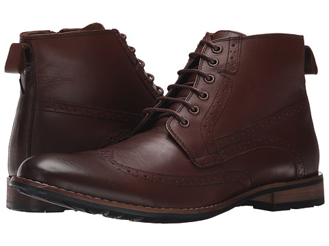 Steve Madden - P-Helper (Brown Leather) Men