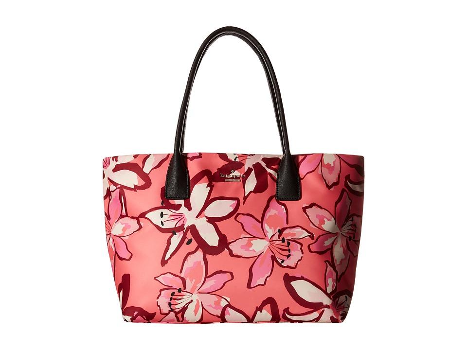 Kate Spade New York - Catie (Surprise Coral Multi) Tote Handbags