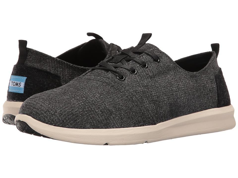 TOMS - Del Rey (Grey Plaid) Men's Lace up casual Shoes