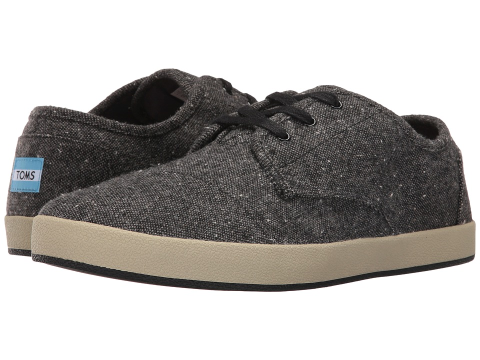 TOMS - Paseo (Charcoal Fleck) Men's Lace up casual Shoes