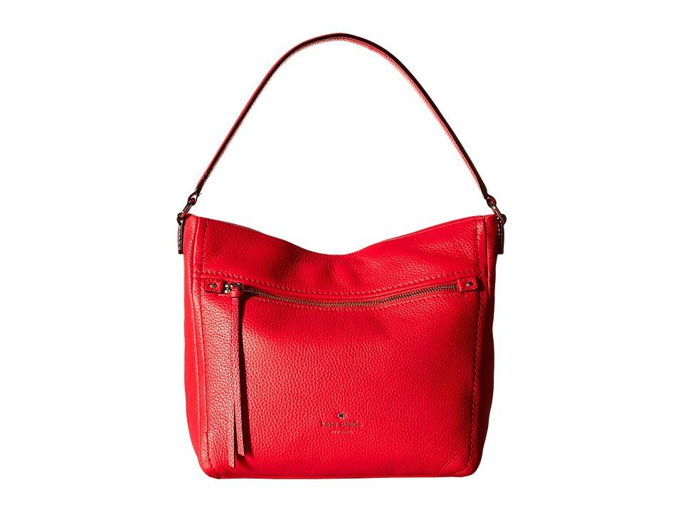Kate Spade New York - Cobble Hill Teagan (Crab Red) Handbags