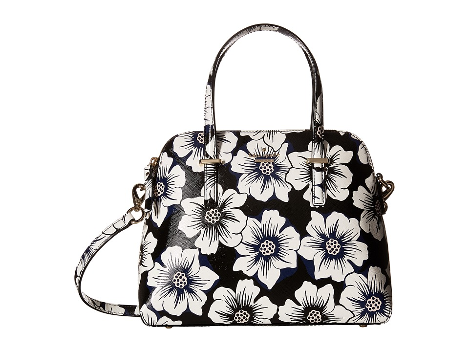 Kate Spade New York - Cedar Street Floral Maise (Black Multi) Handbags