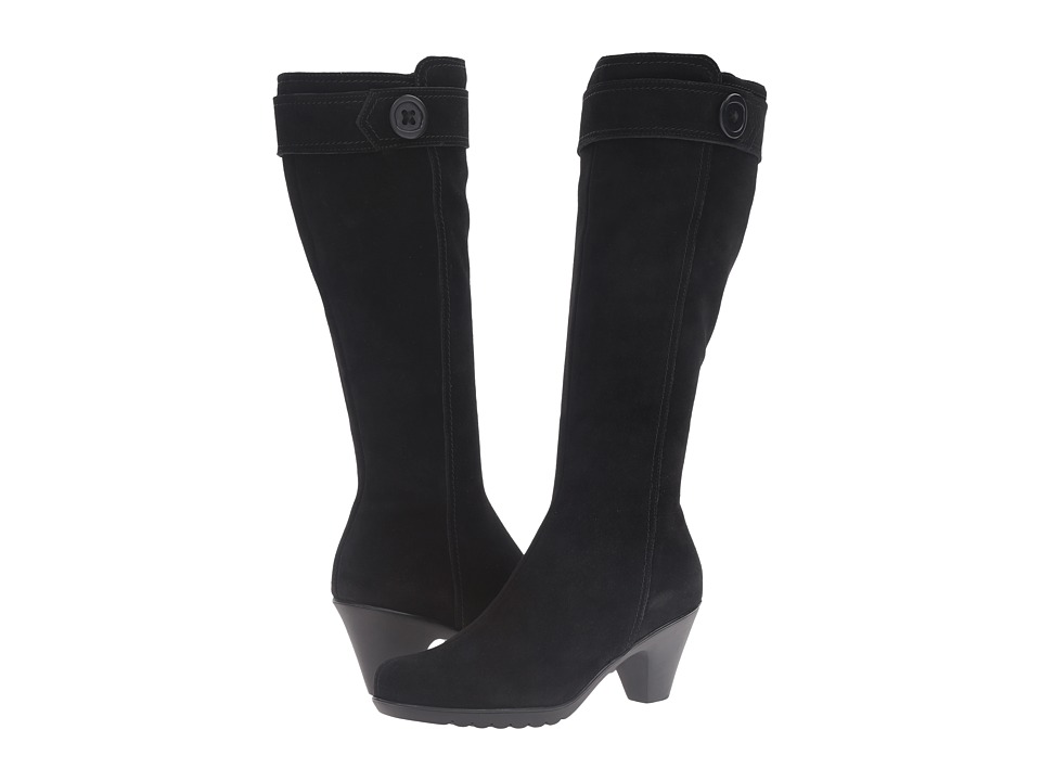 La Canadienne - Dawn (Black Suede) Women's Boots