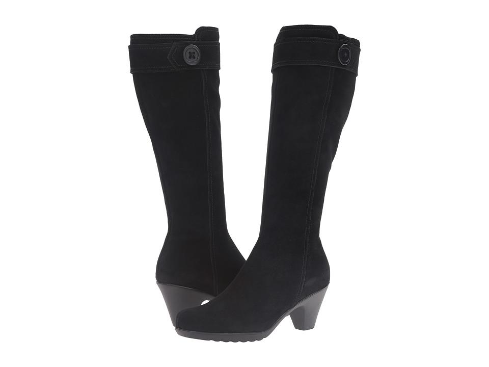 La Canadienne - Dawn (Black Suede) Women's Boots