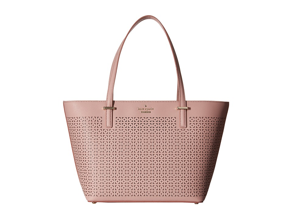 Kate Spade New York - Cedar Street Perforated Mini Harmony (Pink Bonnet) Handbags