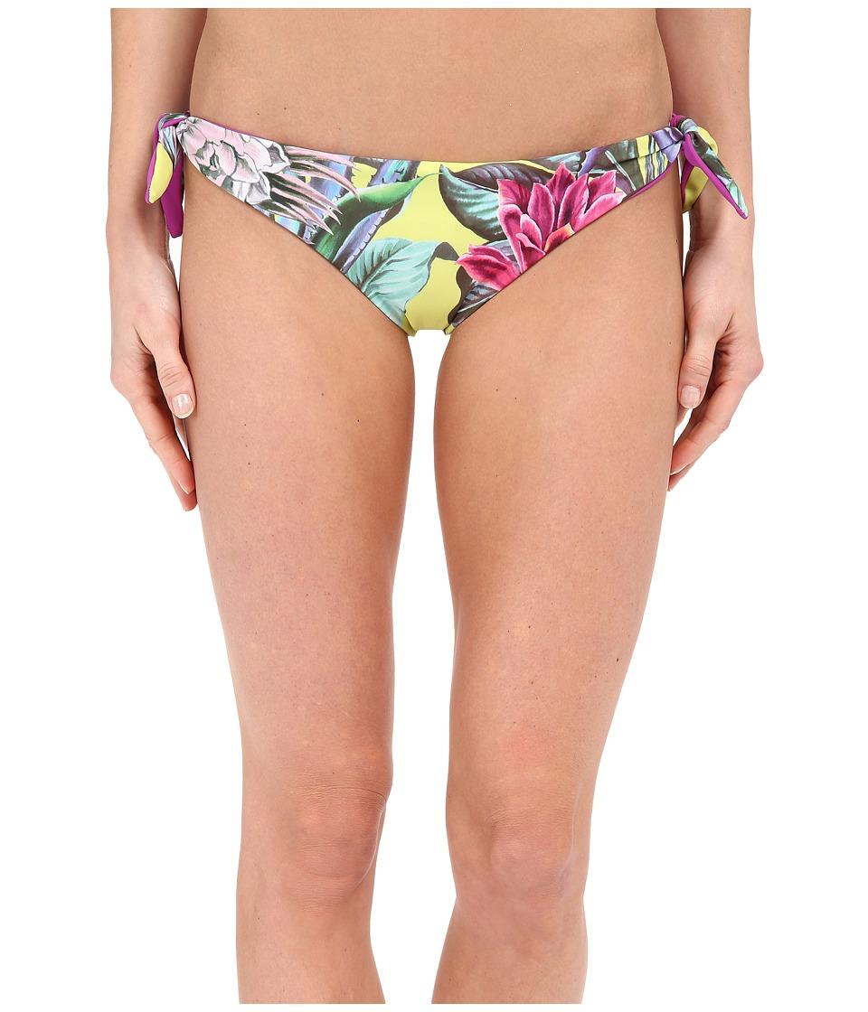 Mara Hoffman Reversible Tie Side Bottom Cactus Floral Citrus Swimwear