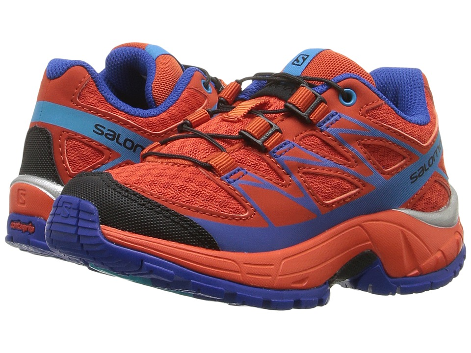 Salomon Kids - Wings (Toddler/Little Kid) (Lava Orange/Tomato Red/Blue Yonder) Boys Shoes