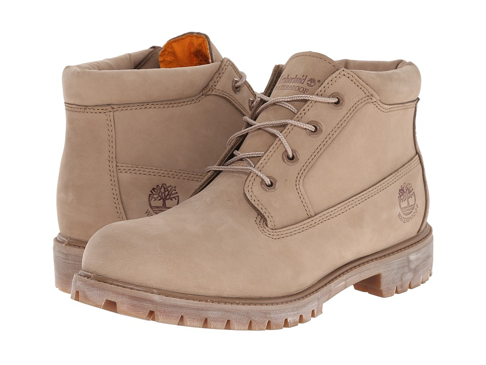 Timberland - Premium Waterproof Chukka (Tan) Men's Shoes