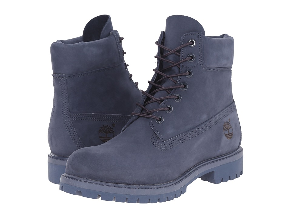 Timberland - 6 Premium Monochrome Boot (Navy) Men's Lace-up Boots