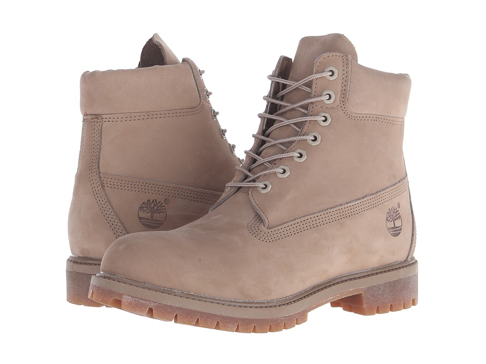Timberland - 6 Premium Monochrome Boot (Tan) Men's Lace-up Boots