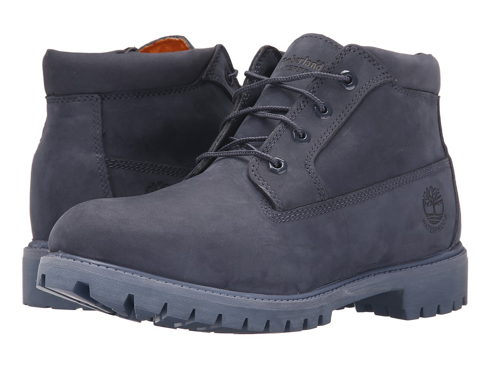 Timberland - Premium Waterproof Chukka (Navy) Men's Shoes