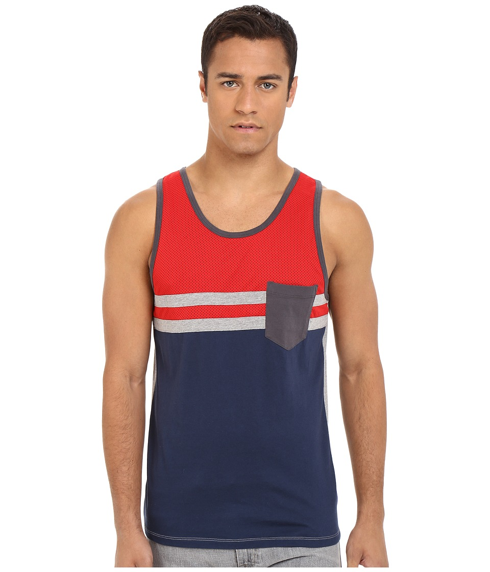UNIONBAY - Van Pacific Jersey Tank Top (Stop) Men's Sleeveless