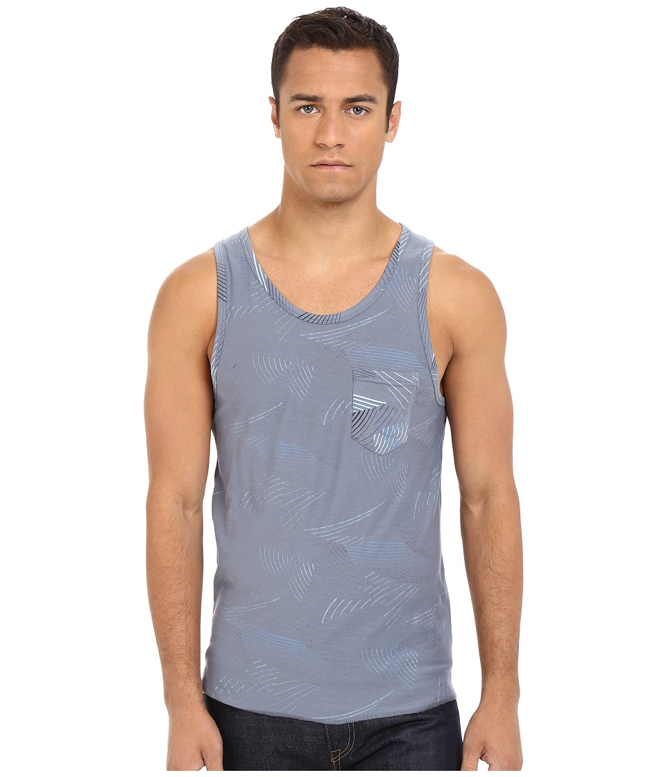 UNIONBAY - Wave Reversible Printed Jersey Tank Top (Cruiser) Men's Sleeveless