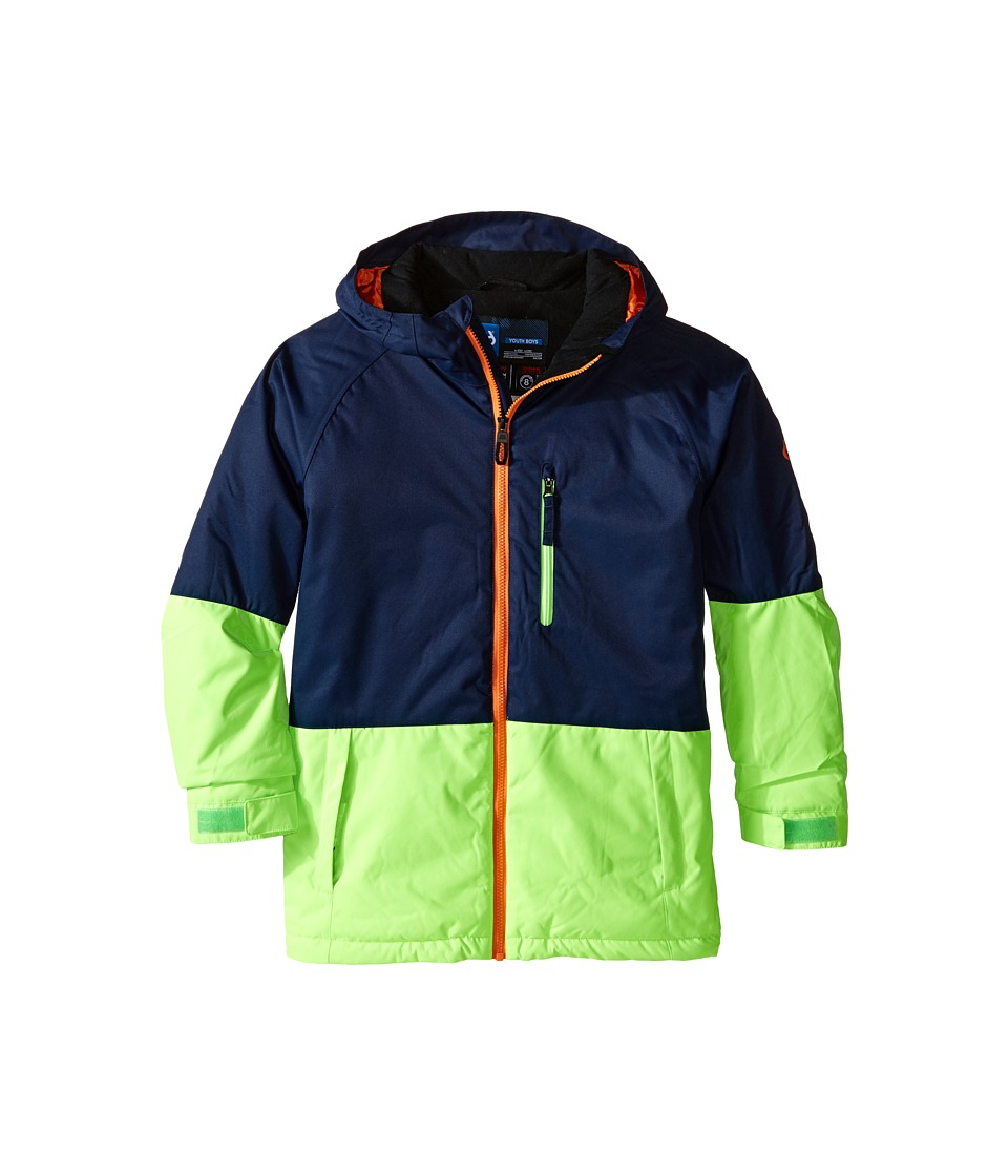 686 Kids - Jinx Insulated Jacket (Big Kids) (Midnight Blue Color Block) Boy's Coat