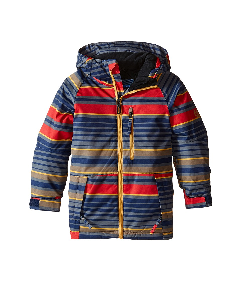 686 Kids - Jinx Insulated Jacket (Big Kids) (Red Stripe) Boy's Coat