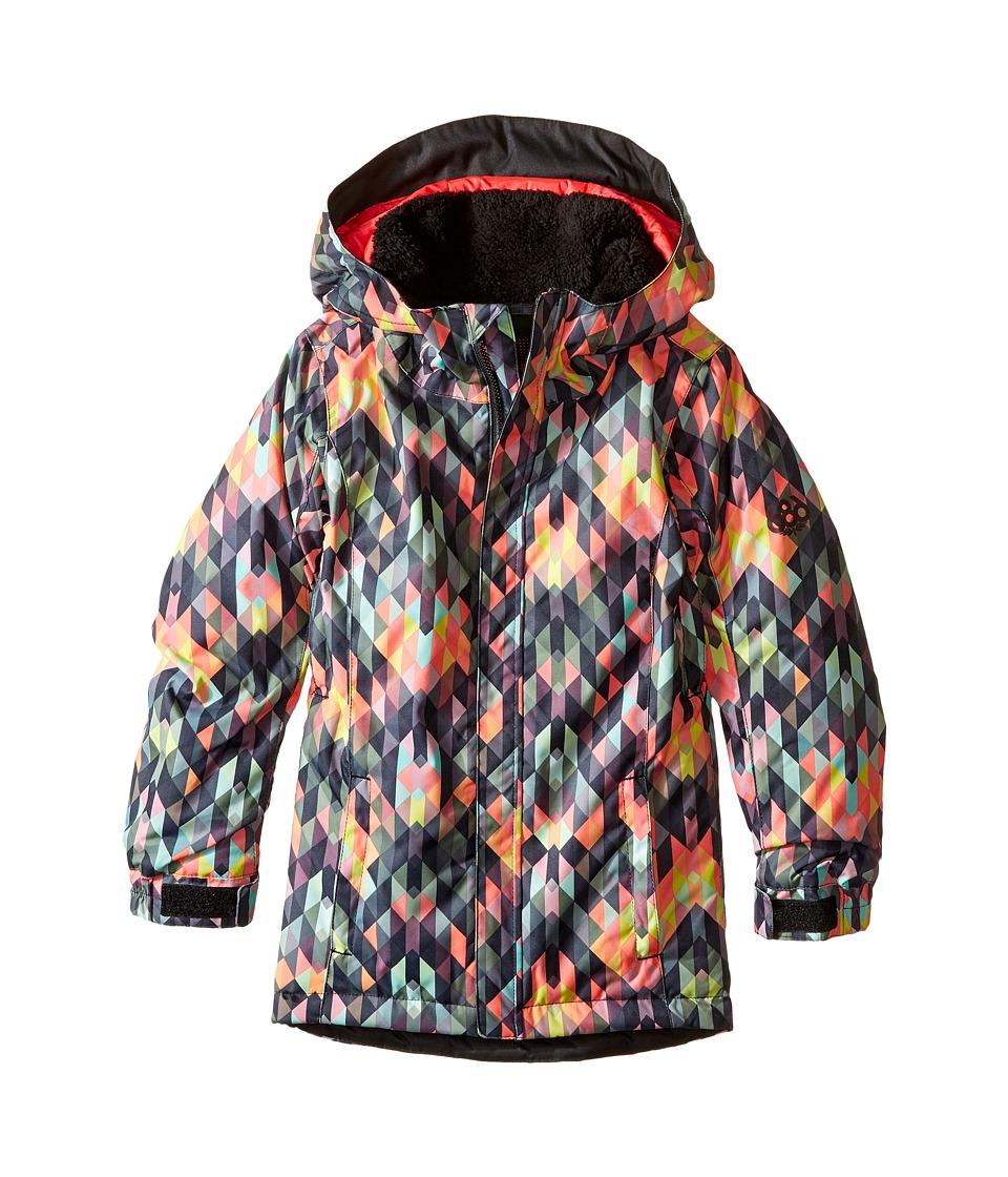 686 Kids Flora Insulated Jacket (Big Kids) (Kaleidoscope) Girl