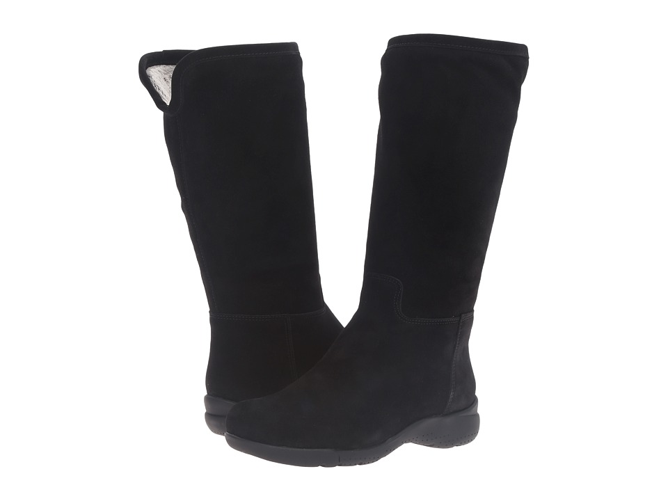 La Canadienne - Taliah (Black Suede/Cozy) Women's Boots