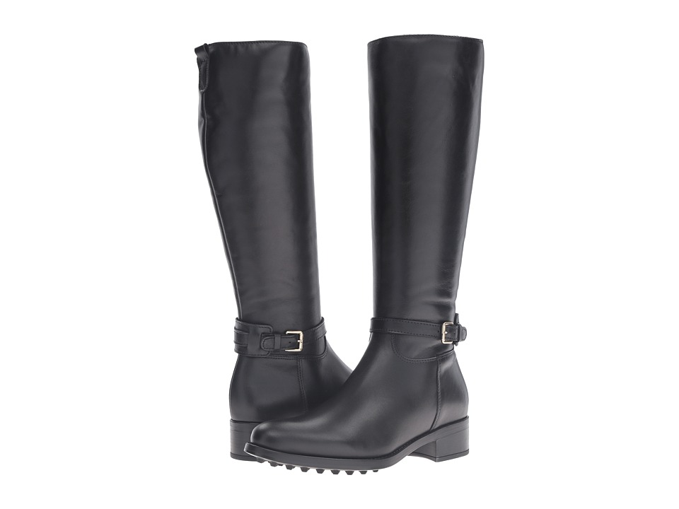 La Canadienne - Simone (Black Leather) Women's Boots