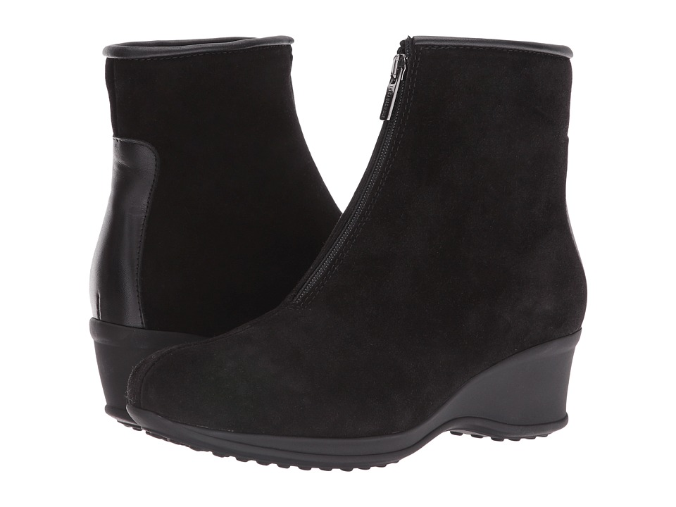 La Canadienne - Florence (Black Suede/Cozy) Women's Boots