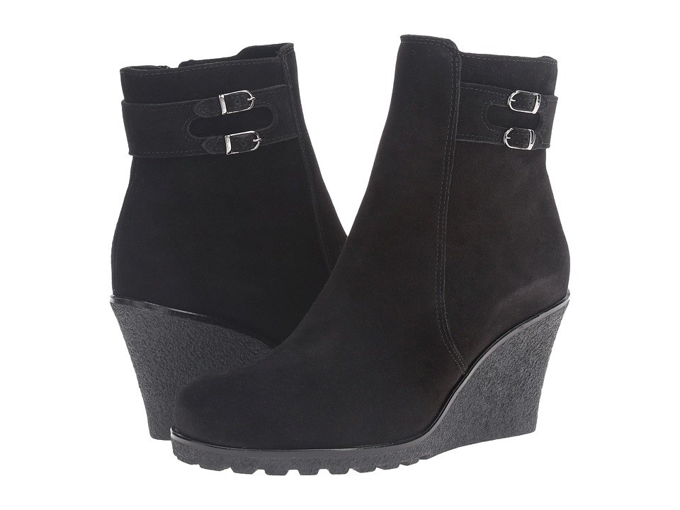 La Canadienne Karley (Black Suede) Women