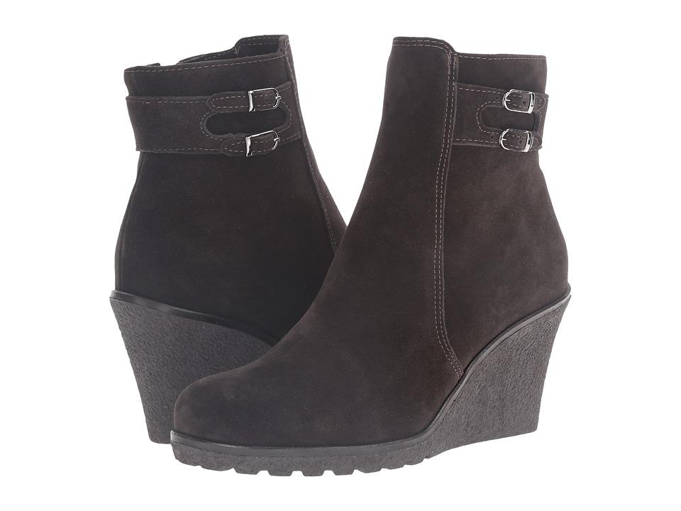 La Canadienne - Karley (Espresso Suede) Women's Boots