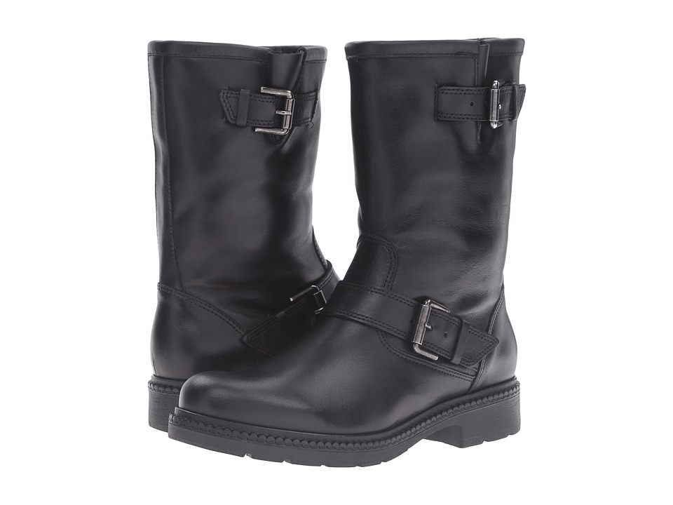 La Canadienne - Cheryl (Black Leather/Black Cozy) Women's Boots
