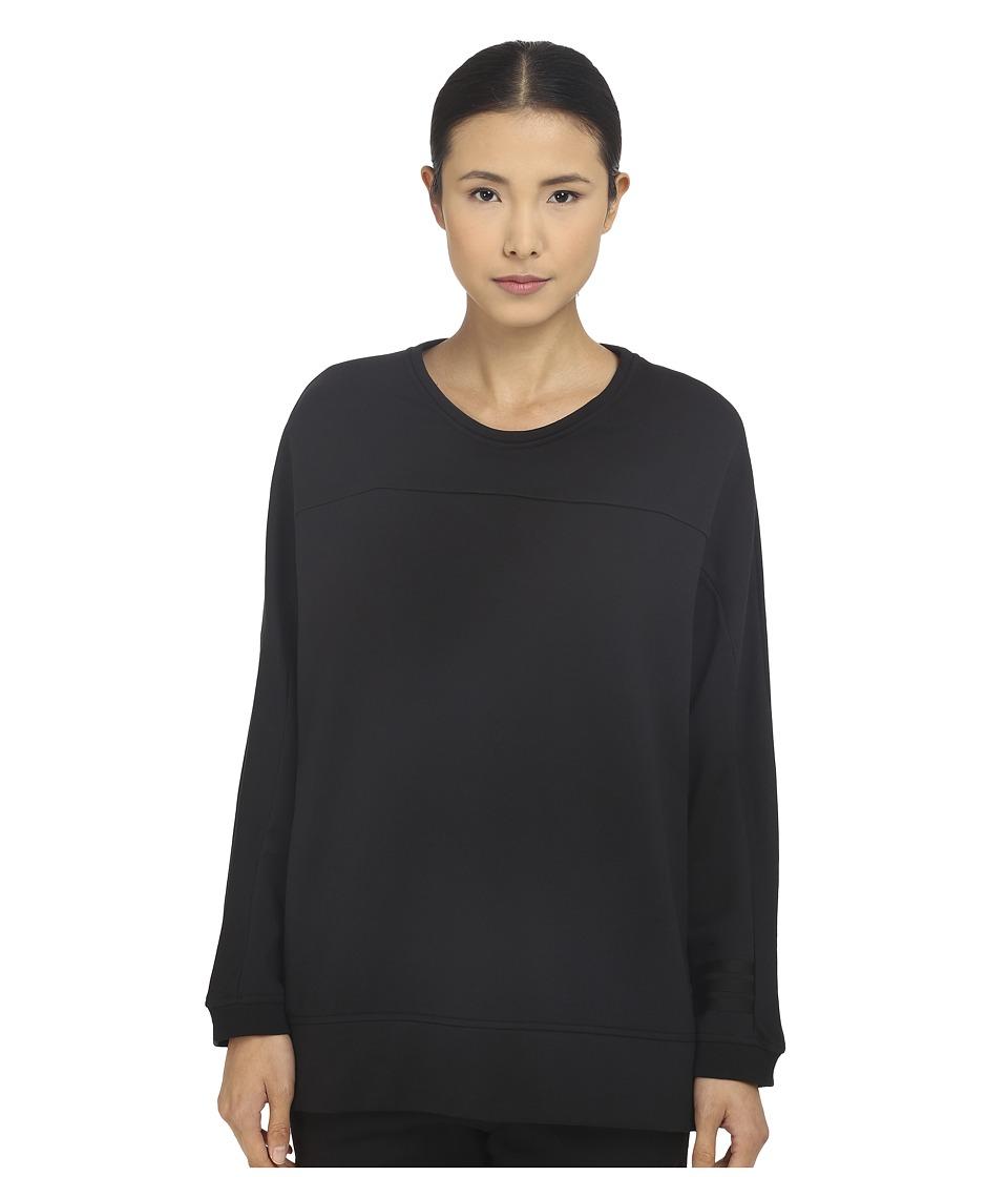 adidas Y-3 by Yohji Yamamoto - W Elegant Sweater (Black) Women's Sweatshirt