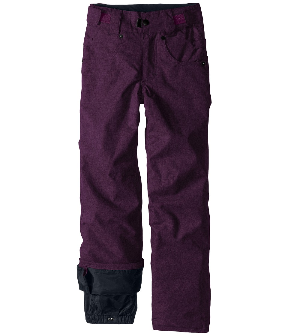 686 Kids - Elsa Insulated Pants (Big Kids) (Mulberry Melange) Girl's Casual Pants
