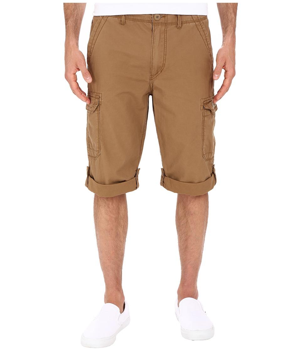 UNIONBAY - Penn Roll Up Cargo Messenger Shorts (Field) Men's Shorts