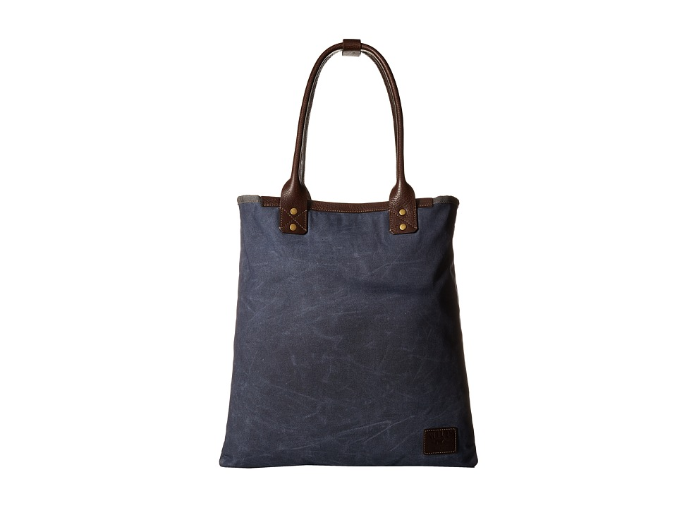 Will Leather Goods - Cooper Spur Tote (Navy) Tote Handbags